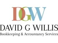 David G Willis. Bookkeeper. Professional and affordable. Sole-traders and small businesses