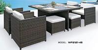 Gorgeous Dining Room Set for your Patio!  A Must See!!!