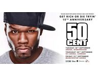 50 Cent Ticket (Standing) O2 Arena