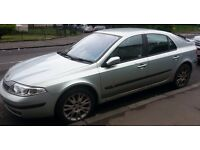 silvery grey Renault Laguna 2003 1.8 Fixed price please read ad