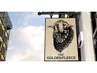 Waiting & Bar Staff Required for Busy Central London Pub – The Golden Fleece