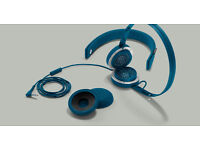 Urbanears Humlan Indigo Headphones + washing bag