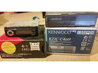 Kenwood stereo and cd changer boxed
