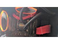NZXT PC MSI GTX 1080 GAMING CARD, I7 7700K, 32GB RAM , H115i LIQUID COOLER ETC..