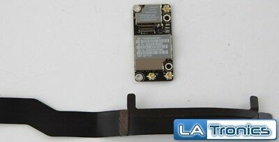 MacBook Pro A1342 Airport Wireless Bluetooth Card 607-6771-A + Cable 821-0876-A