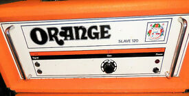 Orange OR SL120 1970's Original Vintage Valve Slave Power Amplifier