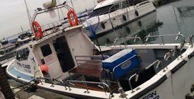 Boat fishing poole quay