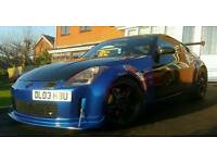 NISSAN 350z Fairlady Import JDM 300BHP V6 RWD MODIFIED CHEAP TAX SHOW CAR DRIFT EVO S2000 mx5 rx7