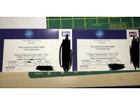 League of Gentlemen Live Again x 2 Tickets for London O2