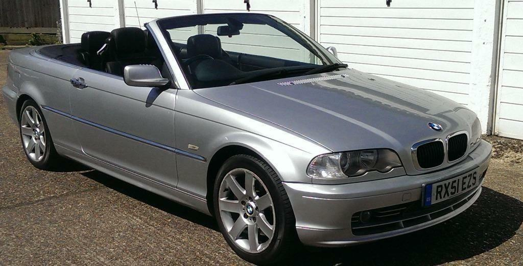 2001 Bmw 3 Series 330 Ci Convertible Auto Leather History