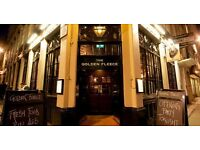 Golden fleece - Vibrant City Pub is looking for experienced and enthusiastic Bar & floor staff.