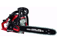 Einhell 41cc Toolless Petrol Chainsaw GH-PC 1535 TC. MINT with WARRANTY & Extras! RRP £120!