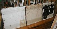 tin - antique tin ceiling panels 2' x 2' LH