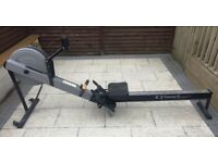 Concept 2 rowing machine with PM3 display