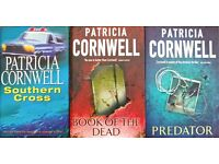 Set of 12 Patricia Cornwell Books, (will sell individual books)