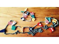 tatty Divine bunting necklace and bracelet