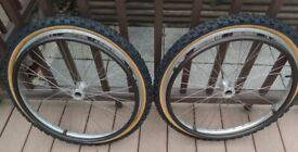 wheelchair wheels for rough terrain