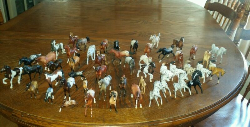 Lot of 47 Breyer mini stable mates mix (please read all of description)