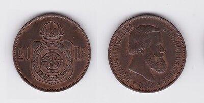 20 Reis Kupfer Münze Portugal 1869 (121897)