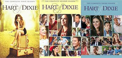 Heart Hart of Dixie TV Series: Complete Seasons 1 2 3 Box / DVD Set(s) NEW!