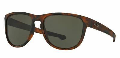 Oakley Men's Sliver R Sunglasses, Soft Coat Brown Tortoise/Dark Grey, One (Oakley Sliver Size)