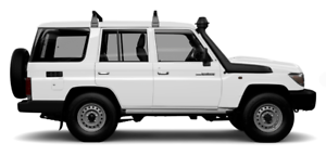 LC70 Wagon Aug 16 - Current H/D 2 bar Roof Racks PZQ30-60150 Kedron Brisbane North East Preview