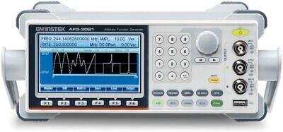 Gw Instek Afg-3021 20mhz 1 Channel Arbitrary Function Generator Afg Awg 250mss