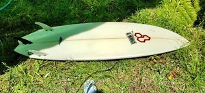 2nd hand surfboard, cover plus fins Jannali Sutherland Area Preview