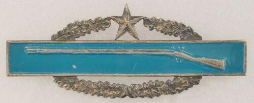 Rarer Variation Viet. Era Theater Made Combat Infantry Badge 2nd Award CIB Insig