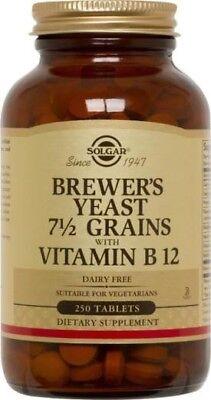 Brewers Yeast Solgar 250 Tabs Brewers Yeast 250 Tablets