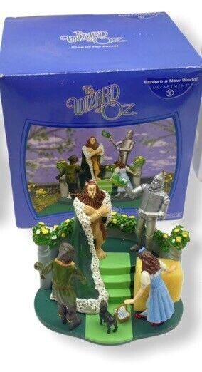 """DEPARTMENT  56 WIZARD OF OZ  #56.59363 """"KING OF THE FOREST"""""""