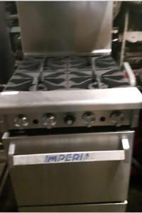 Imperio Open Burner Oven