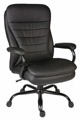 Goliath Heavy Duty Leather Executive Computer Swivel Office Chair for Large User
