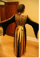 embroidered Dress caftan abaya