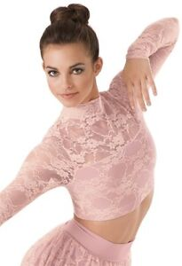 Two-piece Lyrical Dance Costume with Crystals and Hair Accessory