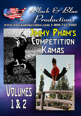 Jimmy Pham's Competition Kamas Instructional DVD Part 1 & 2 for sale  Shipping to Canada
