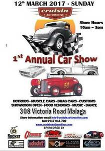 AWESOME CAR SHOW - HOTRODS, MUSCLE CARS, CUSTOMS, and More Malaga Swan Area Preview
