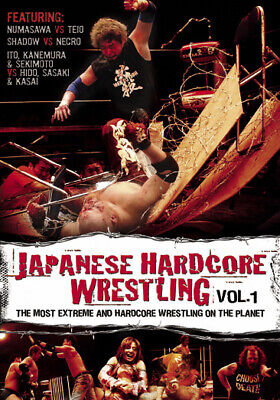 Japanese Hardcore Wrestling Volume 1 (DVD,2006)