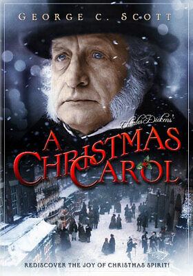 A Christmas Carol (DVD,1984) (foxd2357651d)