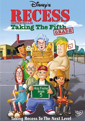 Recess Halloween Movie (Taking The Fifth Grade DVD No More School Grade Five Club and A Recess)