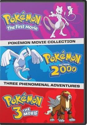 Pokemon: The First Three Movies (DVD,2009)