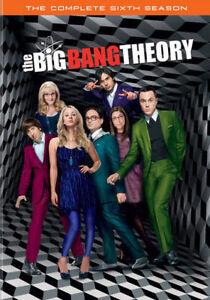 The Big Bang Theory  Complete 6th Sixth Season 6 Six  BRAND NEW 3DISC DVD SET - Winthrop Harbor, Illinois, United States - The Big Bang Theory  Complete 6th Sixth Season 6 Six  BRAND NEW 3DISC DVD SET - Winthrop Harbor, Illinois, United States