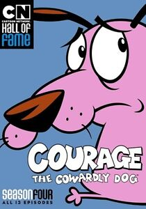 Cartoon Network Hall of Fame: Courage the Cowardly Dog - Season 4 (DVD,2016)