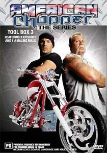 American Chopper : Collection 3 (DVD, 2005, 3-Disc Set) - Region 4