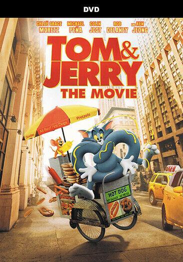 TOM & JERRY THE MOVIE (DVD- 2021)