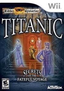 Wii Game: Titanic, Secrets of the Fateful Voyage