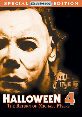 Halloween 4: The Return Of Michael Myers (DVD,1988) (The Movie Halloween Returns)