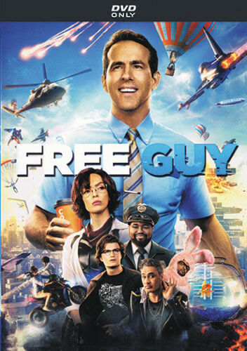 FREE GUY (DVD 2021) Comedy / Action / Adventure