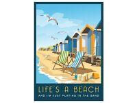 Pop up a Beach Hut (Brand New)