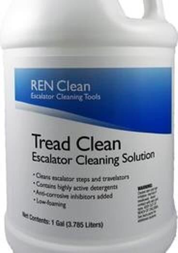 Blasts Nastiest Crud + Crap?  REN CS1700 REN Clean Escalator Tread Cleaner (4gl)